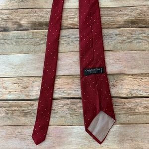 Christian Dior Men's 100% silk neck tie